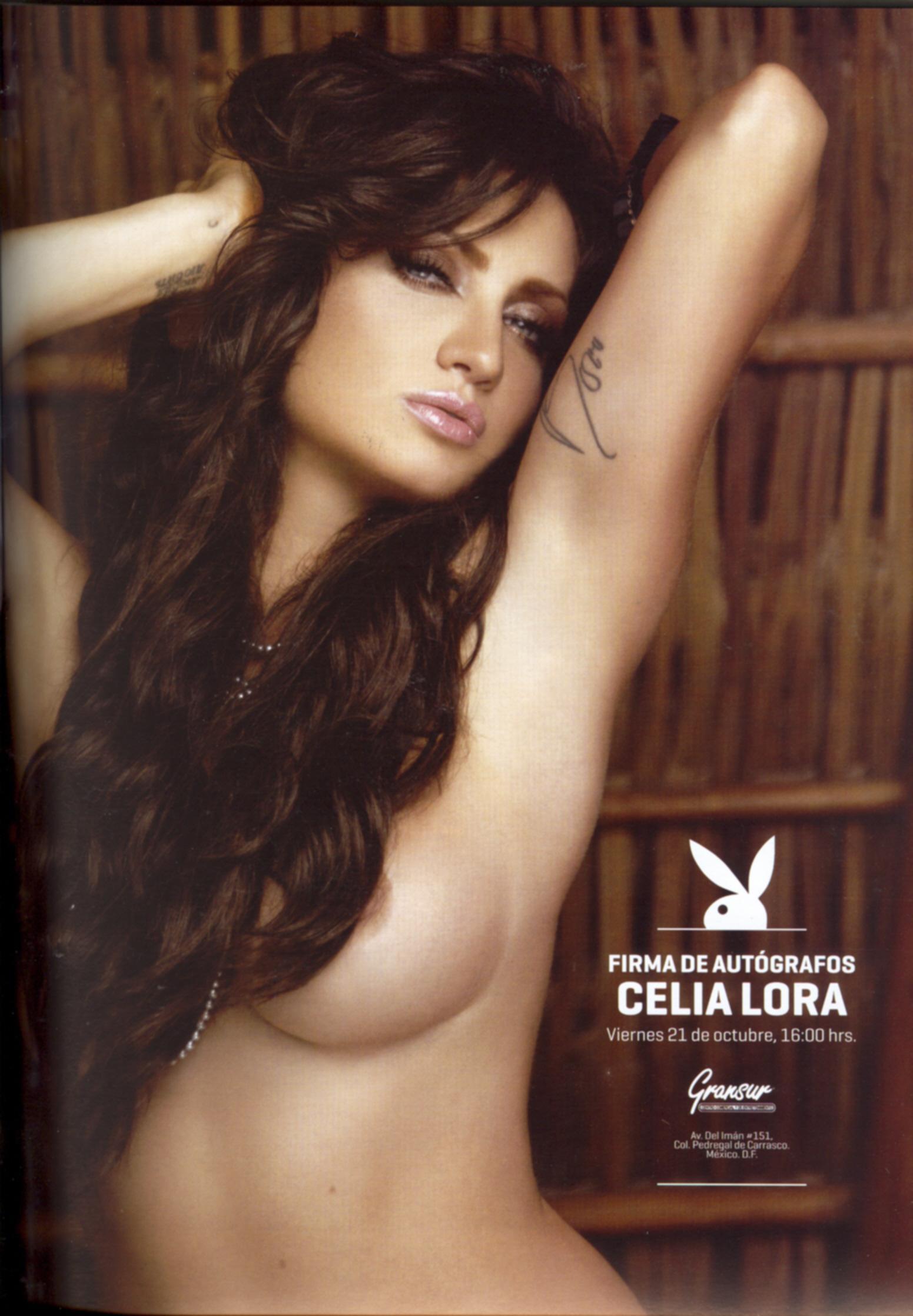 !!Agárrese!! Aquí están las fotos de Celia Lora para Playboy ...